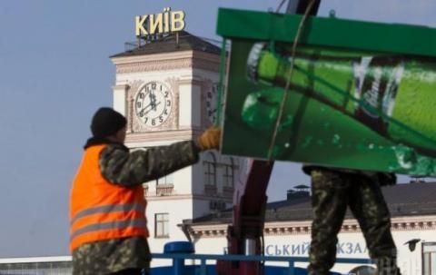 За последний месяц в столице демонтировали 90 МАФов